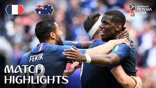 "France v Australia - 2018 FIFA World Cup Russiaâ""¢ - MATCH 5"