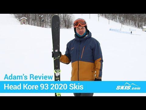 Video: Head Kore 93 Skis 2020 1 40