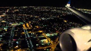 San Francisco (SFO) - Los Angeles (LAX) United Airlines #1676 Landing