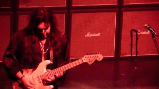Yngwie Malmsteen GATES Of BABYLON Rainbow LIVE w Ripper Owens / Montreal Club Soda Canada 2011