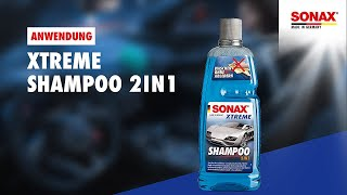 Anwendung SONAX Xtreme Shampoo 2in1