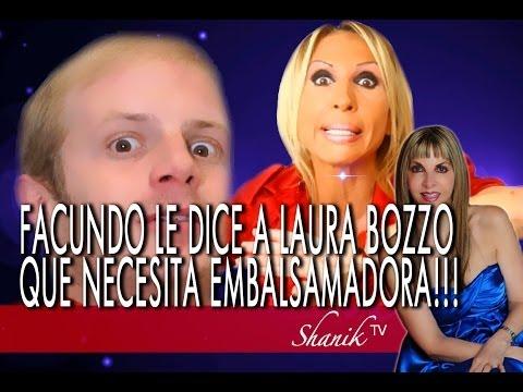 "FACUNDO LE DICE A LAURA BOZZO QUE EN LUGAR DE ""MAQUILLADORA"" NECESITA ""EMBALSAMADORA""!!! Shanik Tv o"