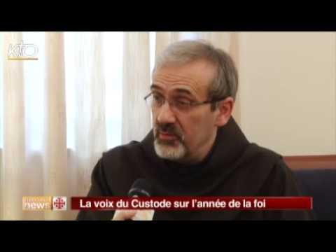 Père Pierbattista Pizzaballa : La voix du Custode sur l'année de la foi