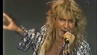 def leppard - promo swedish TV - heaven is & tonight 1993