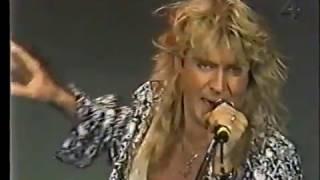 def leppard - promo swedish TV - heaven is & tonight 1993
