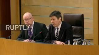 UK: Scottish Parliament halts independence referendum debate due to Westminster attack