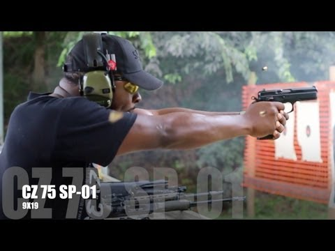Download CZ 75 SP-01 SHOOTING REVIEW: WHERE'S THE RECOIL !?! HD Mp4 3GP Video and MP3