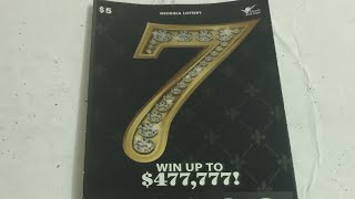 Georgia Lottery: $5 7 and Cash Wheel