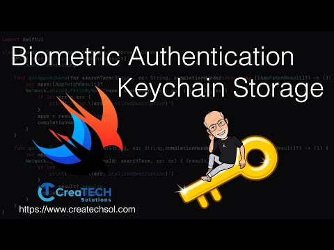 SwiftUI Biometric Authentication and KeyChain storage thumbnail