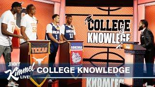 College Knowledge – Texas vs Gonzaga