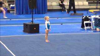Level 6 gymnastics, California Classic 2012