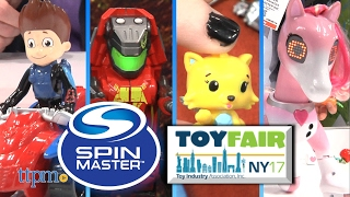 Toy Fair 2017: Spin Master's Hatchimals, Paw Patrol, Zoomer, Meccano, and more