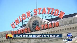 Affordable housing in Denver: Not always as advertised