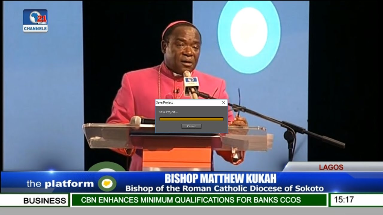The Platform 2016: Bishop Matthew Kukah Speaks On Healing A Traumatized Nation