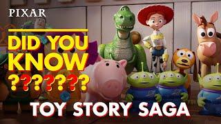 Toy Story Saga Fun Facts | Pixar Did You Know? Trailer