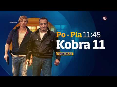 Kobra 11 XXIV. - NOVÉ ČASTI od pondelka do piatka o 11:45 na TV Markíza (od 10. 12. 2019)