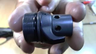 Ружье подводное Pelengas Z-linka 55 со смещенной рукоятью, максимальной комплектации с насосом и чехлом от компании МагазинCalipso dive shop - видео