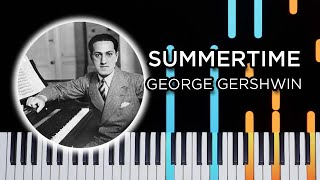 Summertime (Gershwin Piano Jazz) - Piano Tutorial
