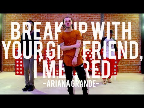 Ariana Grande - break up with your girlfriend, i'm bored | Hamilton Evans Choreography