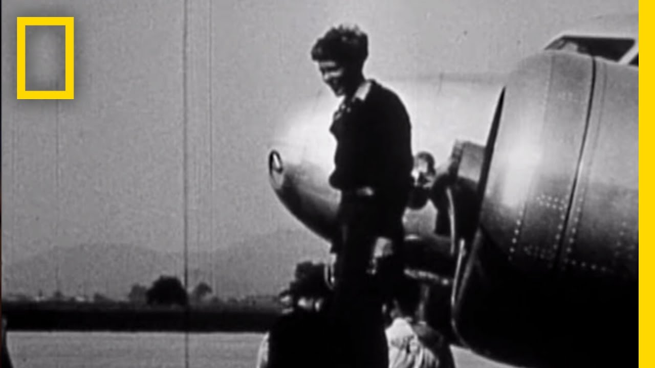 Never Before Seen Amelia Earhart Film Found   National Geographic thumbnail