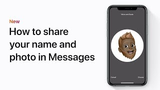 How to share your name and photo in Messages on your iPhone, iPad, or iPod touch – Apple Support