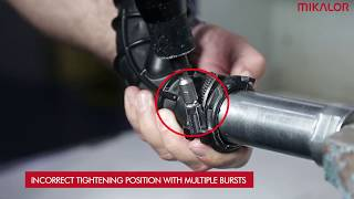 Tutorial: How to install a hose-clamp