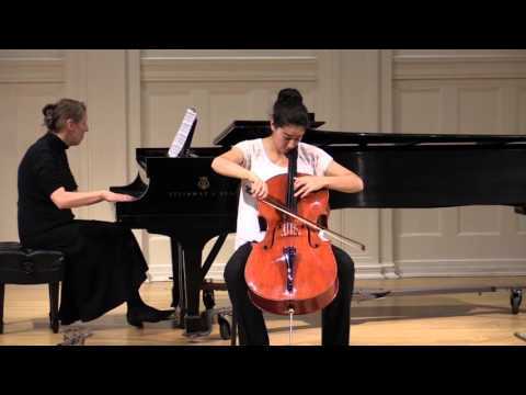 Here is a video of me performing Mstislav Rostropovich's Humoresque.