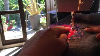The Making of the Mandala Om Tote Bag