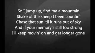 Eric Church - Longer Gone with Lyrics