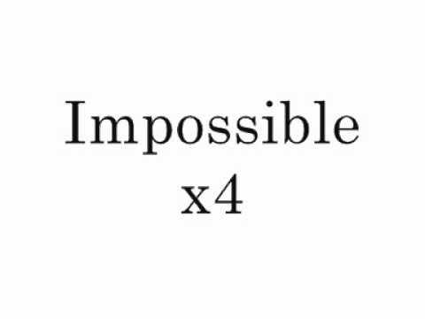 Shontelle - Impossible Official Karaoke/Instrumental
