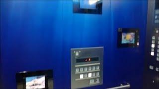 三菱エレベーター サンシャインシティ・WIMビル D-8~11号機 Part5(D-8・9号機)【FullHD】