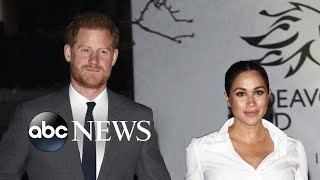 New biography focuses on Prince Harry & Meghan Markle's exit from royal life
