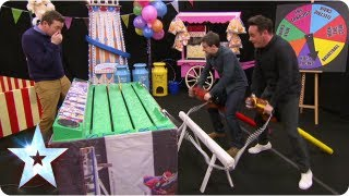 Stallions Ant and Dec are horsing around in BGMT | Britain's Got More Talent 2013