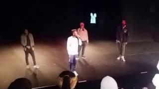 Kwesta performing  Mmino and Ngud at UJ APB Campus,first year concert 2017