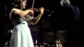 Karajan y A.S.Mutter.Rehearsal and performance .Beethoven Violin Concierto.