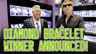 $10,000 Diamond Bracelet Giveaway Winner ANNOUNCED!