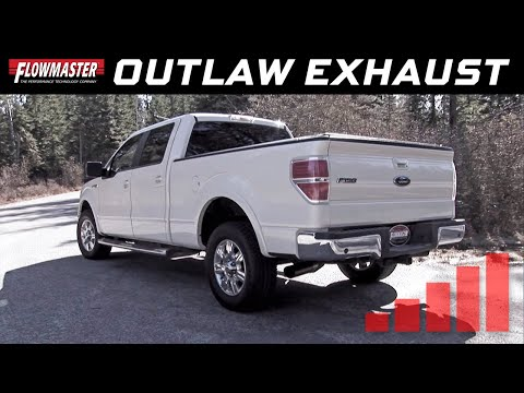 2009-14 Ford F150 4.6L, 5.0L, 5.4L - Outlaw Cat-back Exhaust System 817691