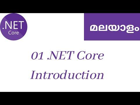 01 - .NET Core introduction - Learn .NET Core MVC Malayalam
