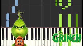 You're A Mean One, Mr. Grinch (From The Grinch)   Piano Tutorials