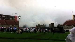 Florida Citrus Bowl - Demolition Commences  - January 29, 2014