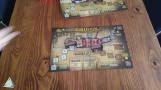 Victory Point Games' Zulus on the Ramparts (Deluxe Edition) Unboxing - The Players' Aid