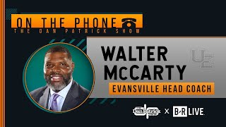 Evansville HC Walter McCarty Talks Kentucky Upset & More w/ Dan Patrick | Full Interview | 11/13/19