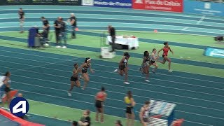 Liévin 2019 : Finale 60 m Cadettes (Pamera Losange en 7''53)