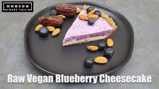 how to make no bake blueberry cheesecake easy