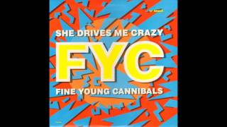 Fine Young Cannibals - She Drives Me Crazy (The Justin Strauss Remix)