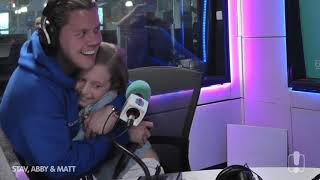 Conrad Sewell's Special Duet With Bella | Hit105 Stav, Abby & Matt