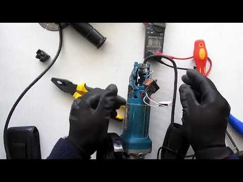 Reparación de amoladora Makita GA4530R, yo reparo,...  y tú?