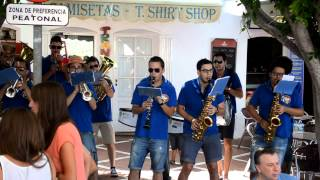 preview picture of video 'Charanga La Blue Band - Mojácar'