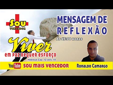 ORAO PALAVRA DE DEUS - TEMA: VIVER EM PAZ REQUER ESFORO. #DEUSFIEL #JESUS #ORAO.