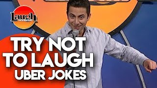 Try Not To Laugh | Uber Jokes | Laugh Factory Stand Up Comedy